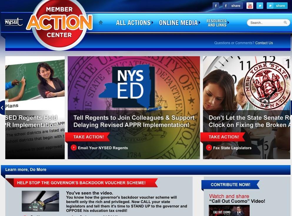Online Member Action Center